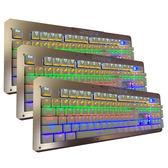 【PH-57】RGB機械鍵盤 電競鍵盤 真青軸 台灣經銷 發光鍵盤 魔獸  LOL 夜光背光遊戲鍵盤 呼吸燈 懸浮
