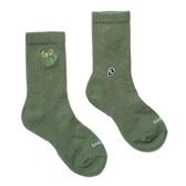 H2O LAB 仙人掌綠 LOGO 中高筒襪 男女(布魯克林) 20SS02GN