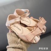 女童涼鞋大碼女童公主鞋夏季新款包頭時尚小女孩公主鞋兒童寶寶鞋軟底1-3歲6 SN1726【夢幻家居】