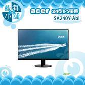 acer 宏碁 SA240Y Abi 24型IPS薄邊框電腦螢幕液晶顯示器 電腦螢幕