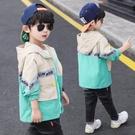 男童外套 男童外套春秋款新款潮兒童裝秋季洋氣小男孩加絨刷毛秋冬裝風衣