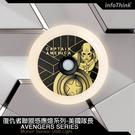 【94號鋪】漫威英雄/復仇者聯盟系列人體感應燈-美國隊長