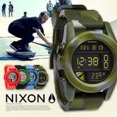 【人文行旅】NIXON | A197-1727 THE UNIT 迷彩腕錶