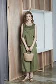 【 BEGONIA 】春夏品牌服飾特價~素面亞麻布無袖上衣 NO.BG91114