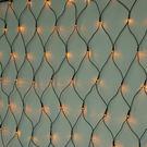 LED 128燈網燈(黃光)附控制器...