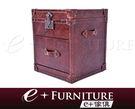 『 e+傢俱 』LK8 復古風潮 全牛皮復古風格皮箱 | 造型皮箱 | 收納箱 | 復古皮箱 | 牛皮皮箱