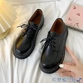 娃娃鞋 英倫風小皮鞋女2021春秋新款百搭女鞋原宿日系jk制服鞋子平底單鞋 快速出貨