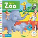 Busy Zoo 忙碌的動物園 硬頁操作...