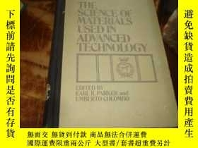 二手書博民逛書店THE罕見SCIENCE OF MATERIALS USED I