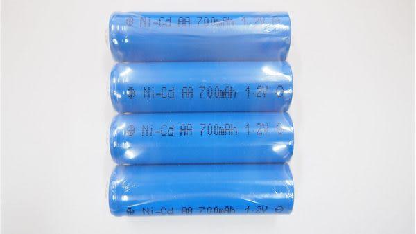 全館免運費【電池天地】鎳鎘充電電池 PR700 AA(3號) 1.2V 700MAH 4入 工業用電池.特殊電池