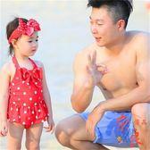 女童連體泳衣小童1-6歲可愛兒童女孩泳裝【奈良優品】