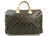 Louis Vuitton LV M41107 M41524 Speedy 35 經典花紋手提包 全新 現貨【茱麗葉精品】