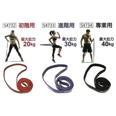 【成功 success】S4734 乳膠訓練拉力帶 專業用 最大拉力40kg /條