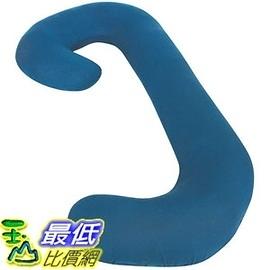 [104美國直購] Leachco 拉鍊式 孕婦枕套 素色款 Snoogle Chic Jersey Replacement Cover with Zipper 藍