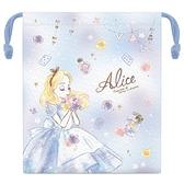 【五折】迪士尼 愛麗絲 束口袋 收納袋 日本正版 該該貝比日本精品
