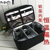 新款專業化妝包超大容量黑色雙層跟妝包防水耐高溫收納 歐亞時尚