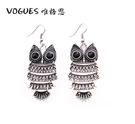 貓頭鷹造型耳環(2色) 情人節禮物【Vogues唯格思】B016