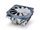 店長推薦 九州風神加百利ITX/M-ATXCPU散熱器超薄AMD小機箱專用cpu風扇