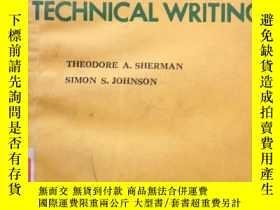 二手書博民逛書店MODERN罕見TECHNICAL WRITING現代技術寫作Y