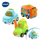 Vtech 嘟嘟聲光互動車-公路交通組(汽車+巴士+拖拉機)