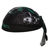 自行車頭巾 遮陽-靈魂法師骷顱造型男女單車運動頭巾73fo33[時尚巴黎]