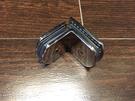 【麗室衛浴】美國KOHLER TRILOGY 頂級五金鉸鍊 90度 玻對玻/不鏽鋼固定夾具 1210356-SHP