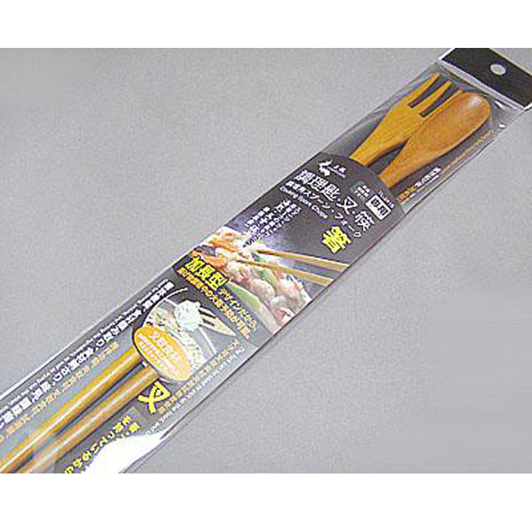 BO雜貨【SV8255】調理匙叉加長型 筷子 湯匙 叉子三合一功能 加長型油炸不燙手 料理筷 廚房好幫手