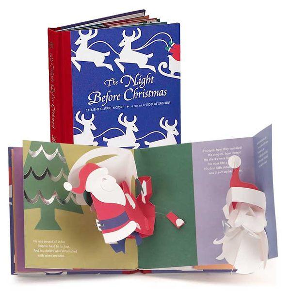 【麥克書店】THE NIGHT BEFORE CHRISTMAS /原文精美立體書《聖誕立體書》