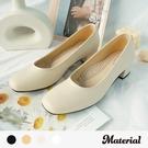 跟鞋 微方頭簡約跟鞋 MA女鞋 T72500