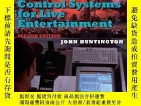 二手書博民逛書店Control罕見Systems For Live Entertainment Second Edition-現場