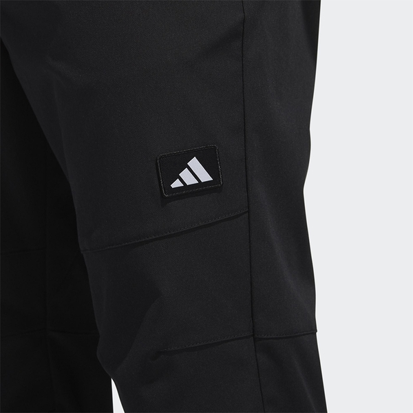 ADIDAS URBAN 男裝 長褲 訓練 可調節腰帶 拉鍊口袋 黑【運動世界】GM4439