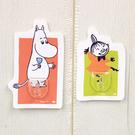 【震撼精品百貨】慕敏嚕嚕米家族_Moomin Valley~造型壁貼掛勾組(2入)-嚕嚕米&小不點亞美