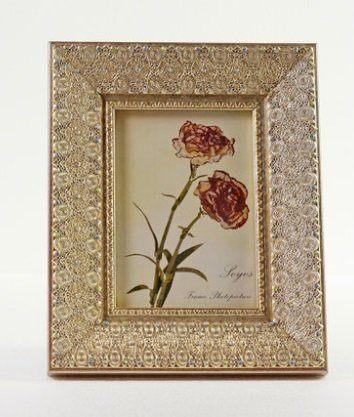 南希實木雕花相框 複古相片架DP