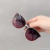 墨鏡防紫外線偏光眼鏡男童女童防曬太陽鏡舒適旅遊時尚墨鏡潮 阿卡娜
