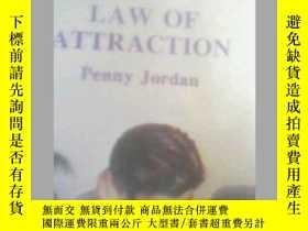 二手書博民逛書店LAW罕見OF ATTRACTION penny jordan