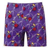 DADADO-灌籃M-3L印花平口褲(紫)GH7227-PU