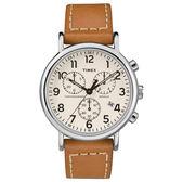 TIMEX 天美時 三眼計時 手錶(TXTW2R42700)