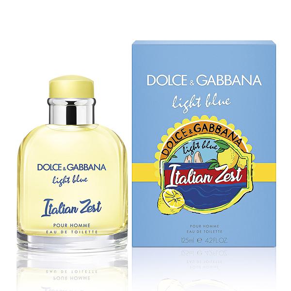 DOLCE & GABBANA Italian Zest 熱情仲夏限量男性淡香水125ml【5295我愛購物】