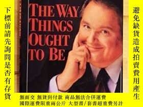 二手書博民逛書店The罕見Way Things Ought To BeY255562 Rush Limbaugh Pocket