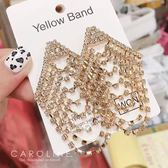 《Caroline》★韓國熱賣造型時尚  經典華麗款,宴會最佳選擇 耳環70424