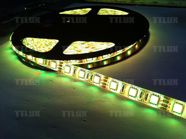 5050軟燈條5米300燈七彩 (含控制器) (不防水)