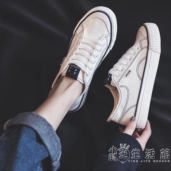 鞋子女2021年新款小眾設計帆布鞋夏季薄款日系小白鞋ins街拍潮鞋 小時光生活館