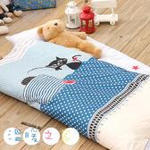 【R.Q.POLO】溫暖之家 新絲柔 兒童冬夏兩用鋪棉書包型睡袋(4.5X5尺)
