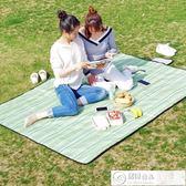 野餐垫戶外春游野餐墊便攜郊游野餐布防潮墊可折疊牛津布防水野炊地墊 居優佳品DF