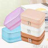 飾品收納盒 便攜式首飾盒可愛公主飾品盒韓式小巧耳釘收納盒戒指盒 寶貝計畫