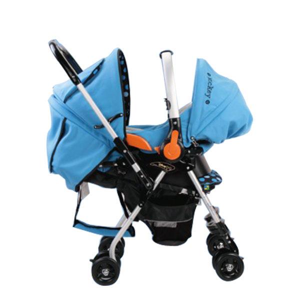 【ViVibaby】迪士尼米奇/米妮提籃安全座椅 米奇藍DSF001100B/米妮粉DSF001100R