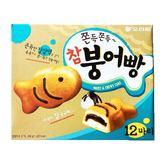 韓國 ORION 好麗友 鯛魚燒 QQ 巧克力蛋糕(12入/盒 348g)