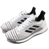 【六折特賣】adidas 慢跑鞋 Solar Glide W 白 黑 BOOST中底 基本款 女鞋 運動鞋【ACS】 BB6630