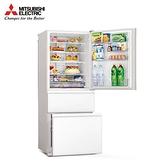 【MITSUBISHI 三菱】450L 泰製三門變頻電冰箱 純淨白 MR-CGX45EP-GWH-C (送基本安裝)
