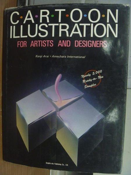 【書寶二手書T4/原文書_PCW】Cartoon illustration_for artists..._1998年